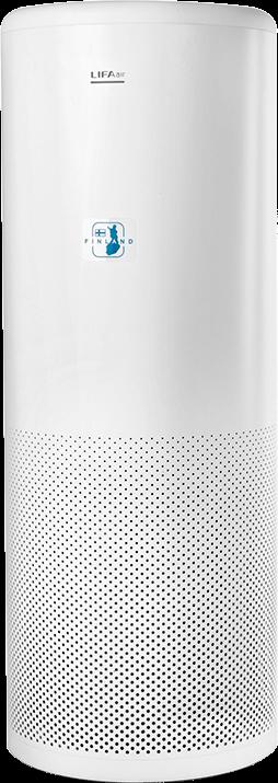 Budova a technické parametry čističky vzduchu LIFAair LA502C