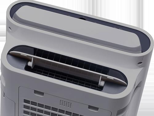 Sharp UA-HD40E-L výstup vzduchu