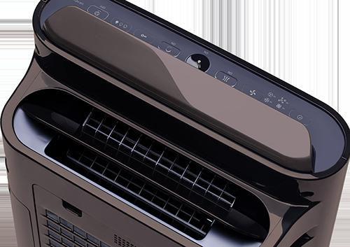 Sharp UA-HD40E-T výstup vzduchu