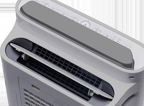 Sharp UA-HD60E-L výstup vzduchu