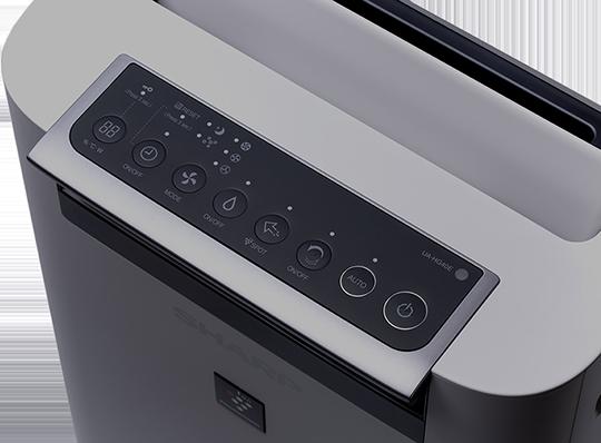 Sharp UA-HG40E-L ovládací panel