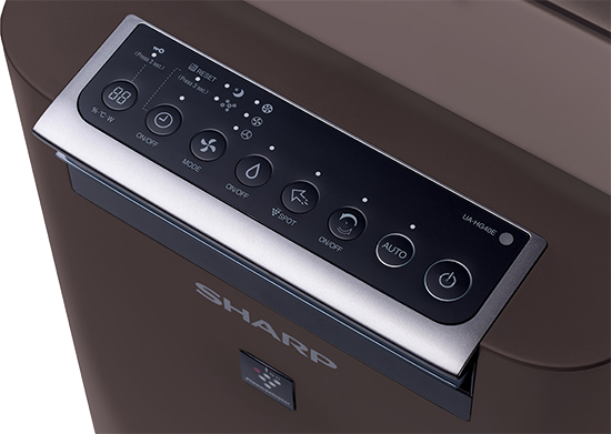 Sharp UA-HG40E-T ovládací panel