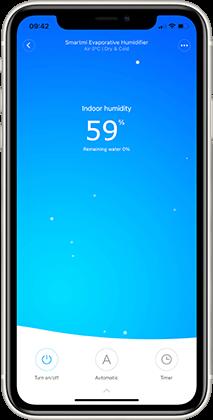 Xiaomi Smartmi Pure Evaporative 2 Aplikace Mi Home