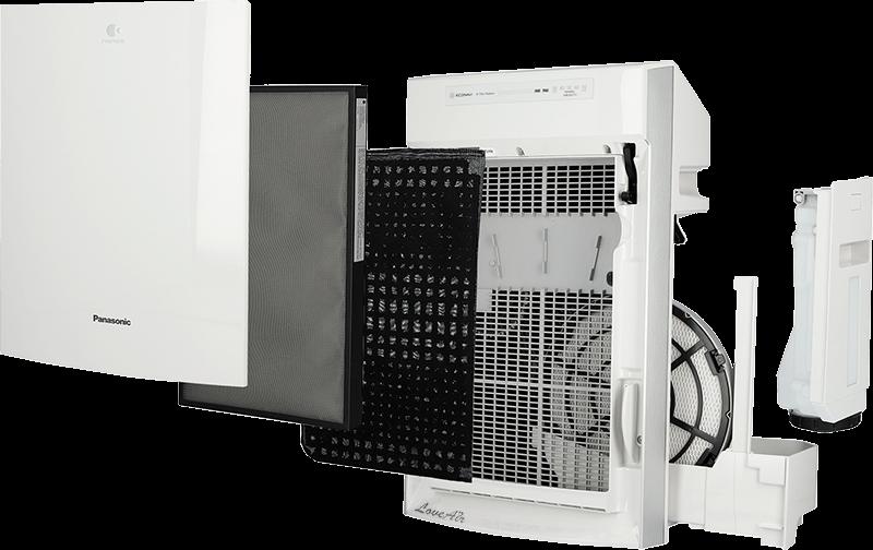 Stupně filtrace Panasonic F-VXR50G-W