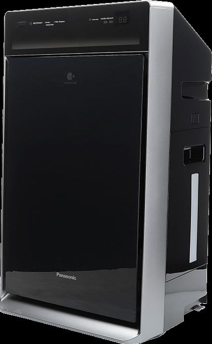 Panasonic F-VXR90G-K pohled zboku