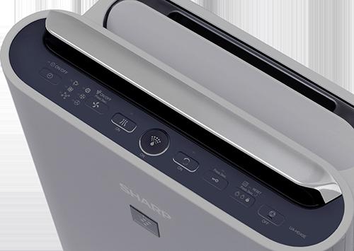 Sharp UA-HD40E-L ovládací panel