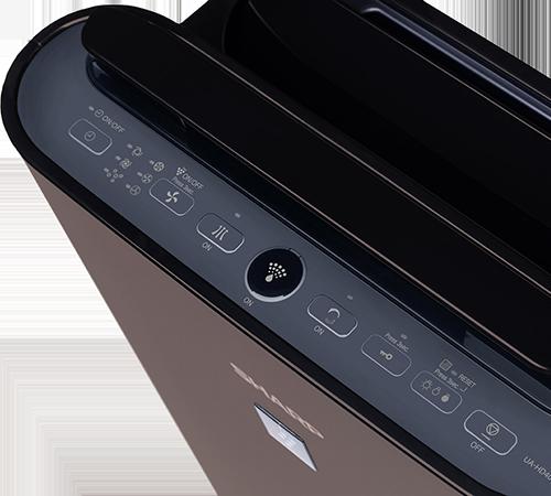 Sharp UA-HD40E-T ovládací panel