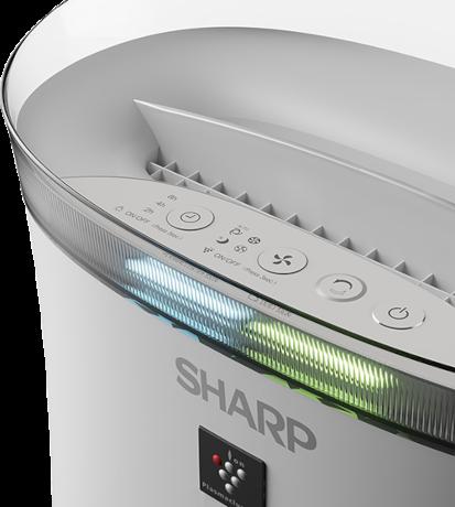 Sharp UA-PF40E-W ovládací panel