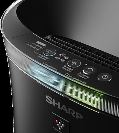 Sharp UA-PM50E-B ovládací panel