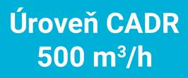 Toshiba CAF-X83XPL vysoká úroveň CADR